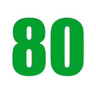 80% VG