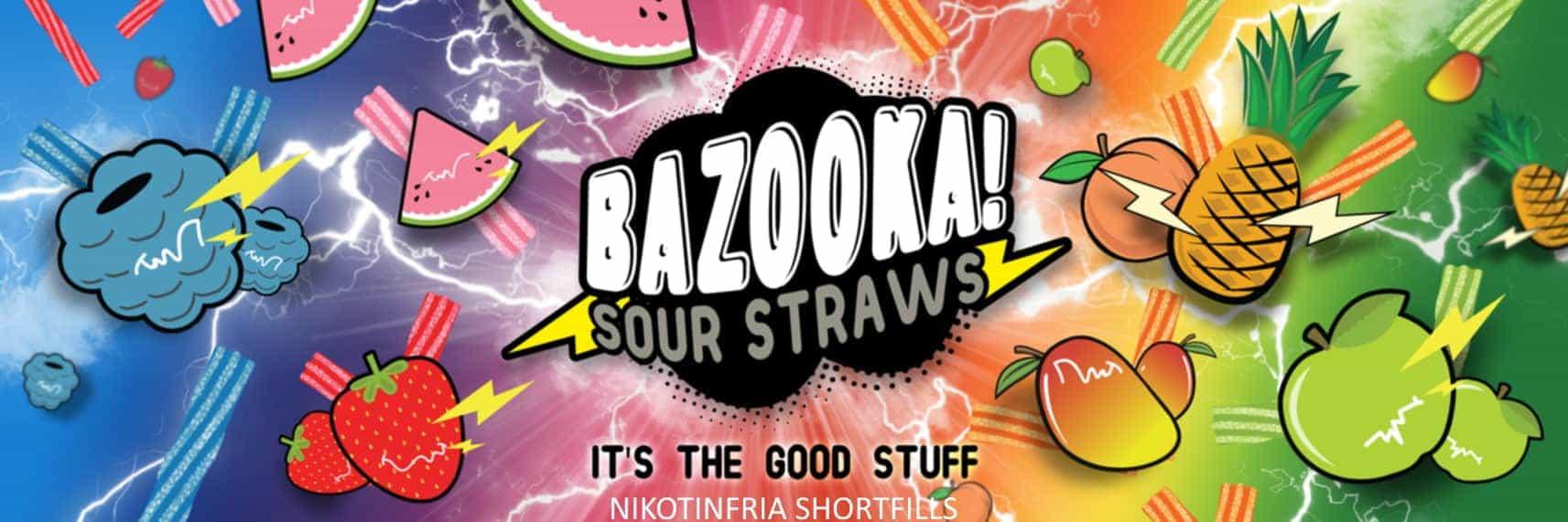 Bazooka Sour Straws Slide