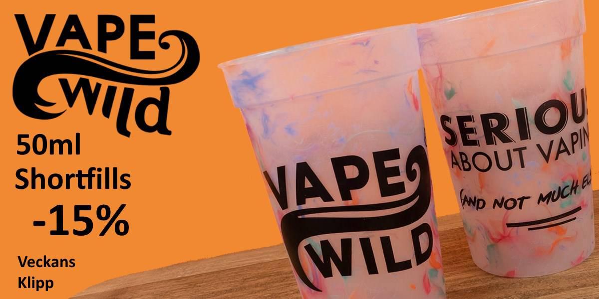 Vape Wild Shortfills Banner