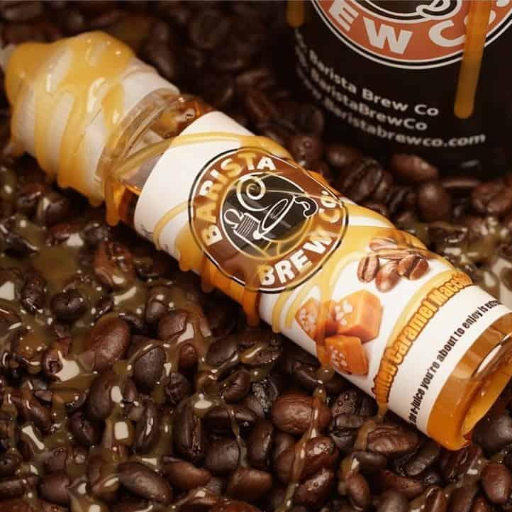 Salted Caramel Macchiato Barista Brew Shortfill 50ml