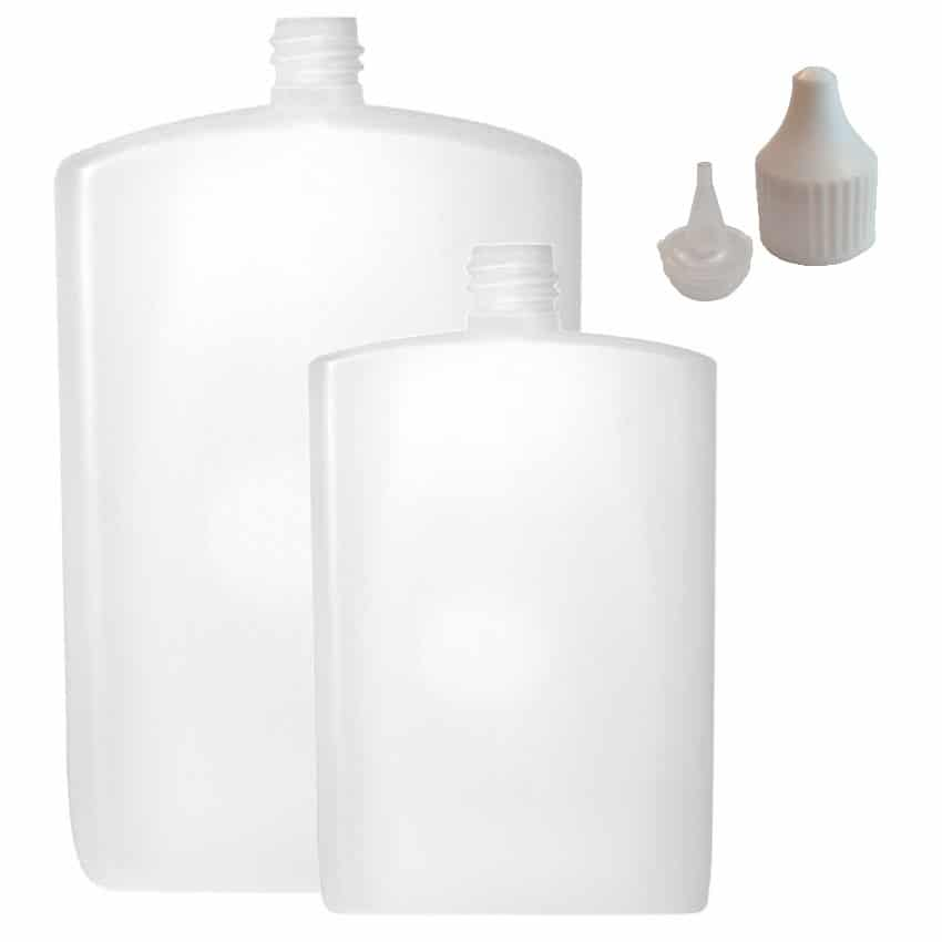 Plastic Postal Bottle Thin Tip 100ml 300ml