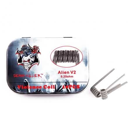 Demon Killer Alien V2 Coil 10pcs