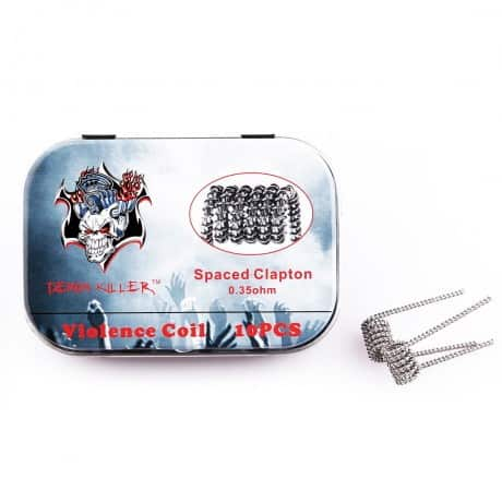 Demon Killer Spaced Clapton Coil 10pcs