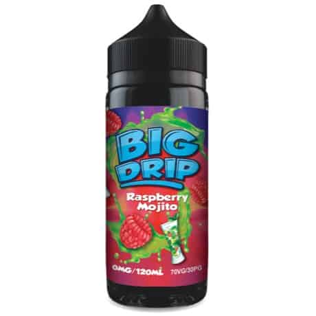 Raspberry Mojito Big Drip Doozy Vape Shortfill 100ml