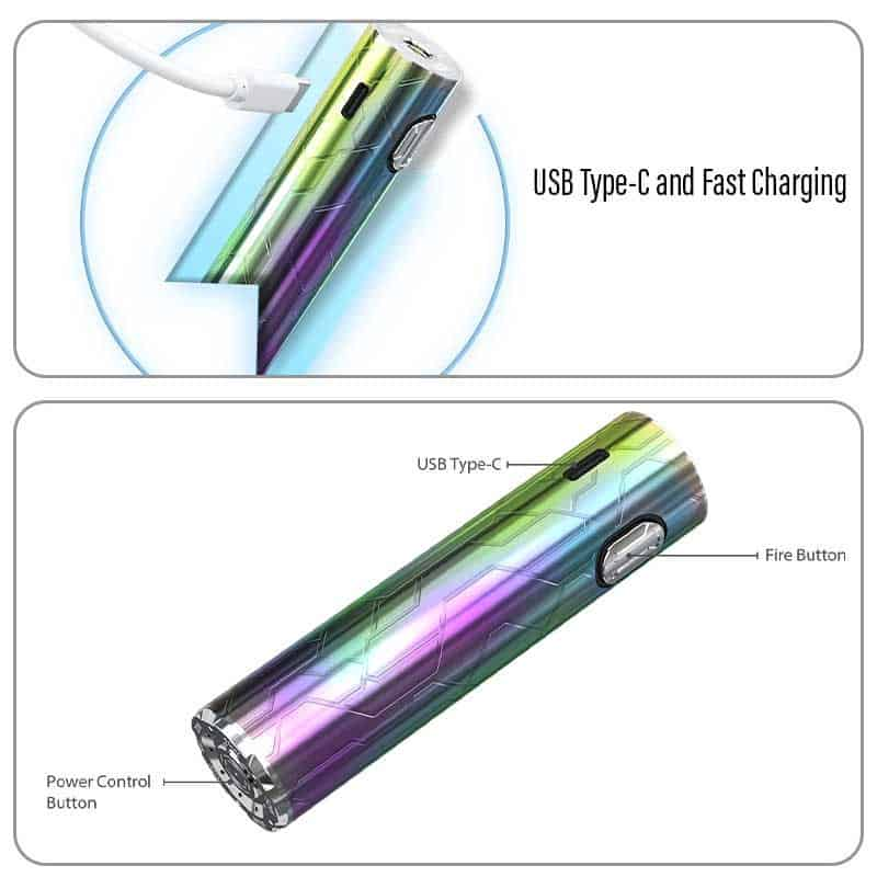 Eleaf Ijust3 Pro Battery Charging