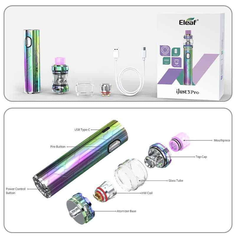 Eleaf Ijust3 Pro Ello Pop Parts Components