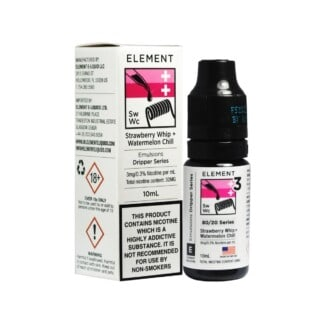Element Strawberry Whip + Watermelon Chill 10ml