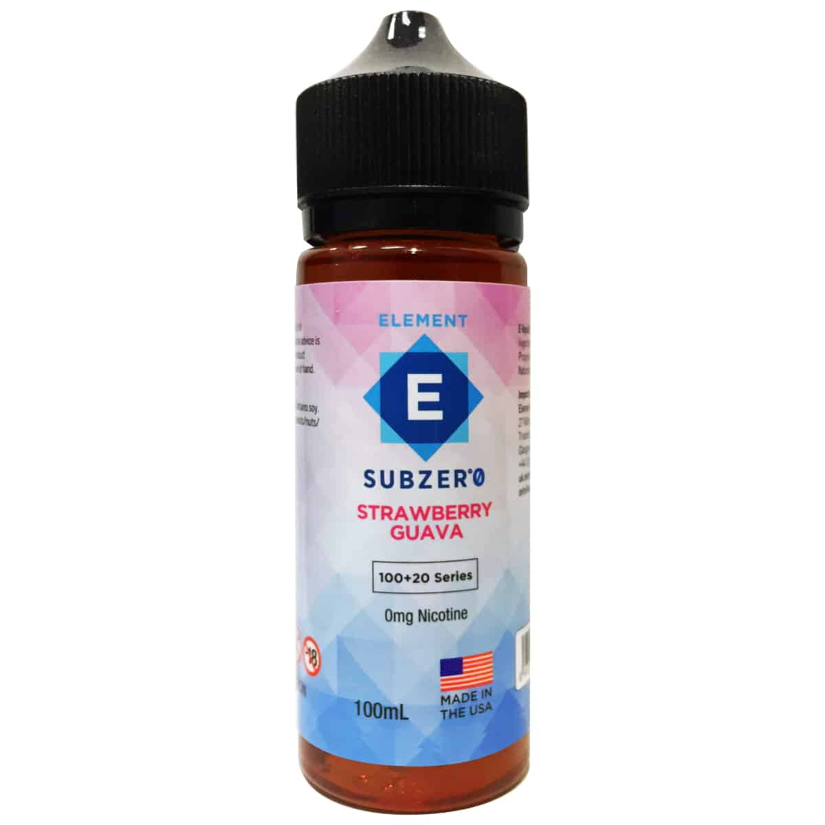 Strawberry Guava Element Subzero Shortfill 100ml