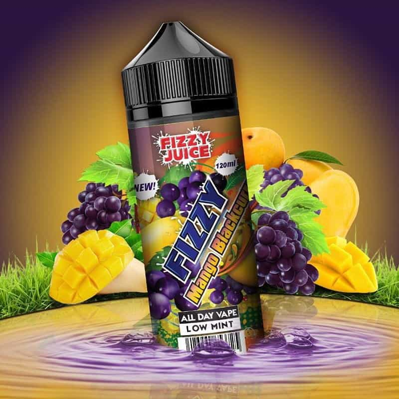 Mango Blackcurrant Fizzy Shortfill 100ml