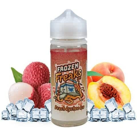 Peach Lychee Ice Frozen Freaks Shortfill 100ml