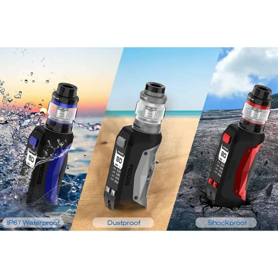 Geekvape Aegis Mini Mod Waterproof Dustproof Shockproof
