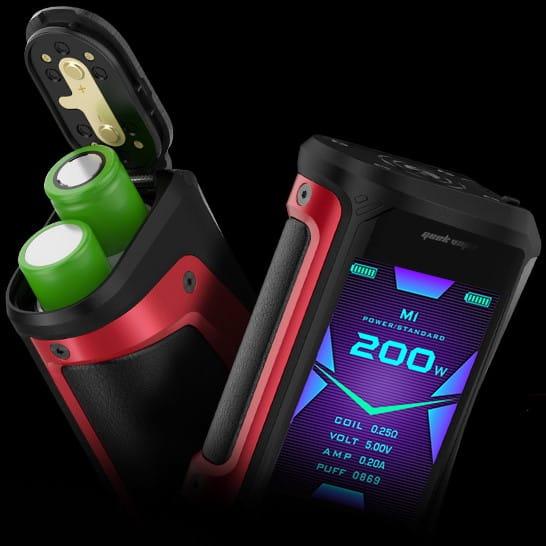 Geekvape Aegis X Battery Balance Charging