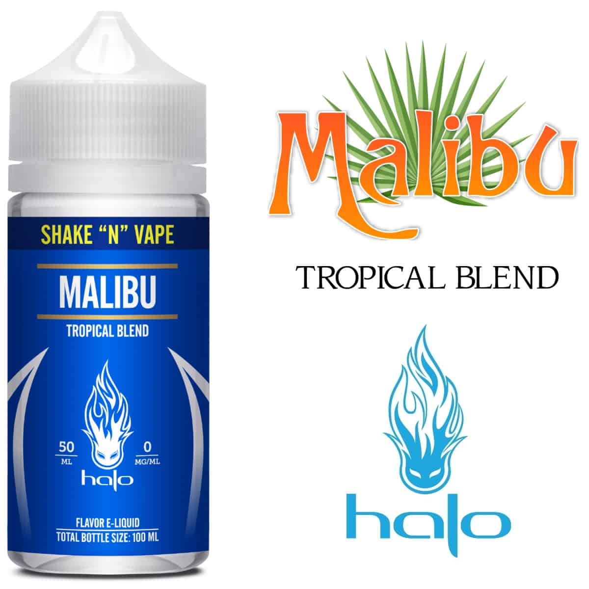 Malibu Halo Shortfill 50ml