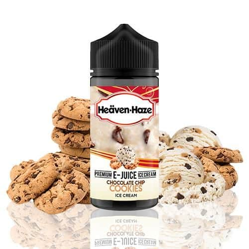Chocolate Chip Cookies Ice Cream Heaven Haze Shortfill 100ml