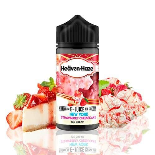 New York Strawberry Cheesecake Ice Cream Heaven Haze Shortfill 100ml