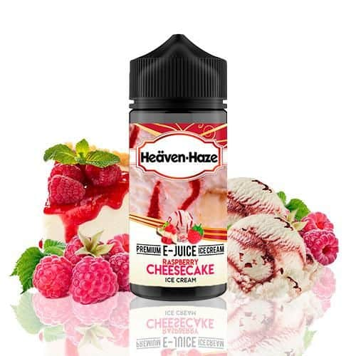 Raspberry Cheesecake Ice Cream Heaven Haze Shortfill 100ml