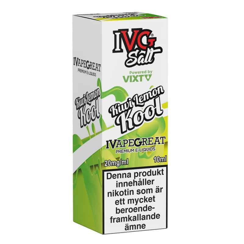 Kiwi Lemon Kool Ivg Salt 20mg 10ml