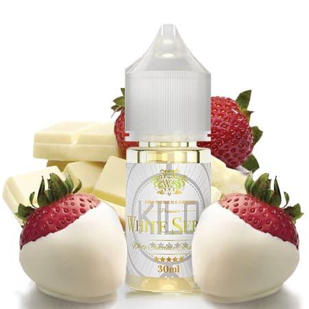 White Chocolate Strawberry Kilo White Series Concentrate 30ml