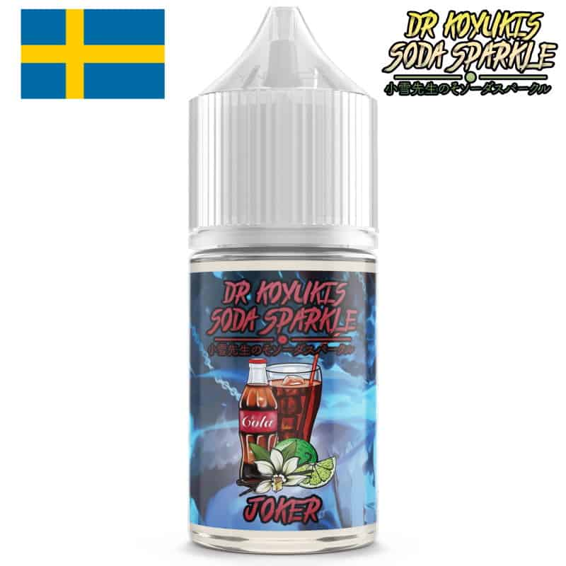Joker Dr Koyukis Soda Sparkle Mtl Shortfill 10ml