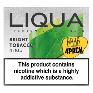 Bright Tobacco Liqua 4-Pack