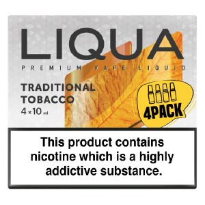 Traditional Tobacco Liqua 4-Pack