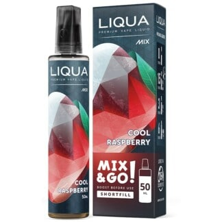 Cool Raspberry Liqua Mix&GO Shortfill