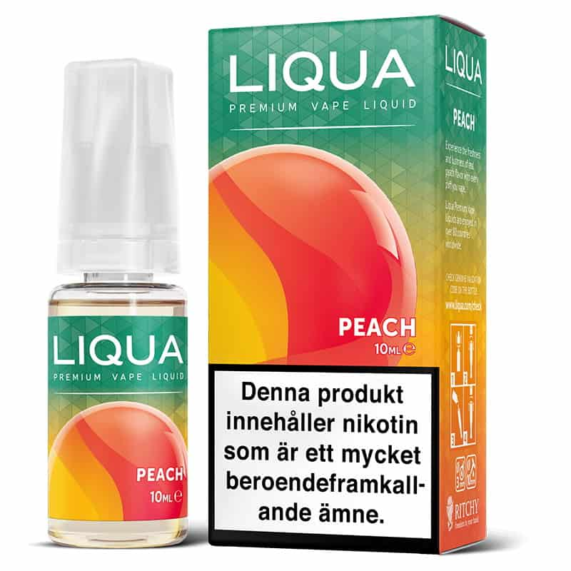 Peach Liqua 10ml