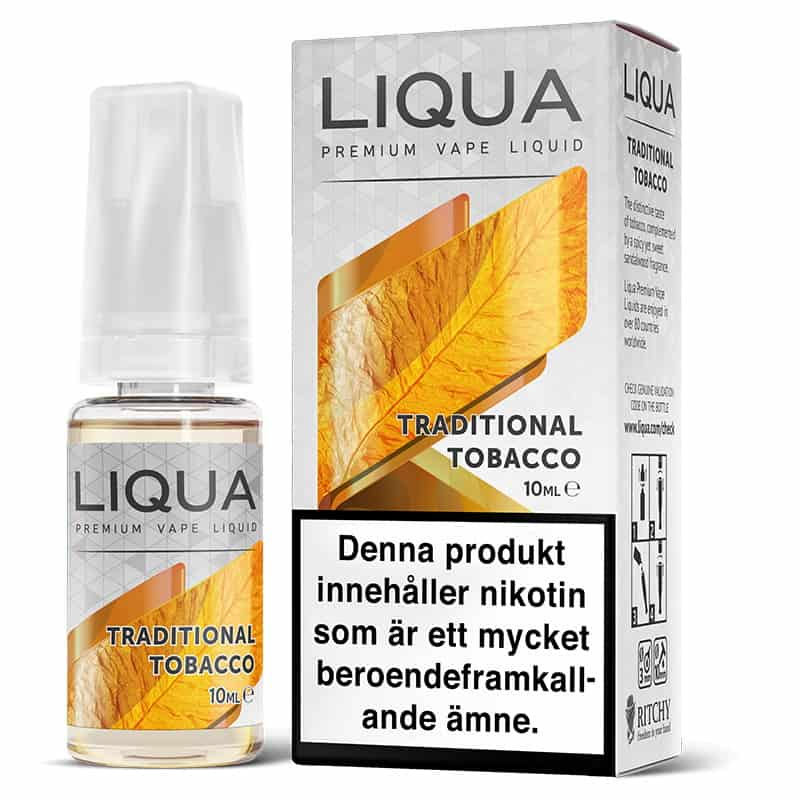 Traditional Tobacco Liqua 10ml