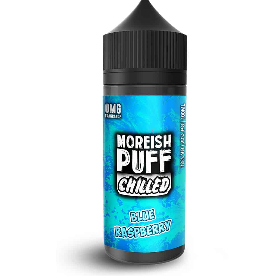 Blue Raspberry Chilled Moreish Puff