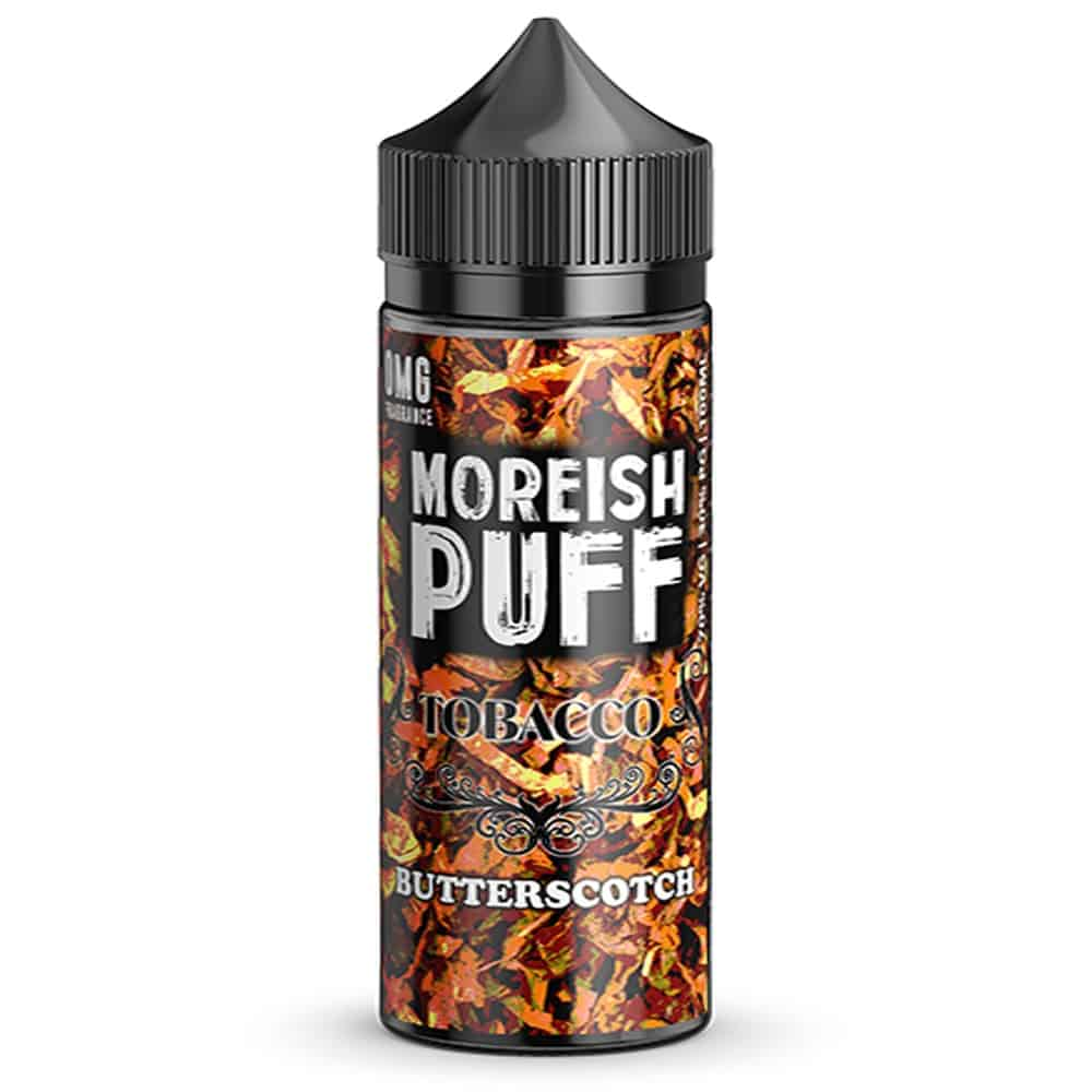 Butterscotch Tobacco Moreish Puff Shortfill 100ml