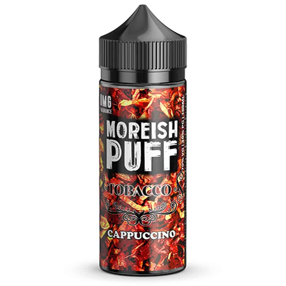 Cappuccino Tobacco Moreish Puff Shortfill 100ml
