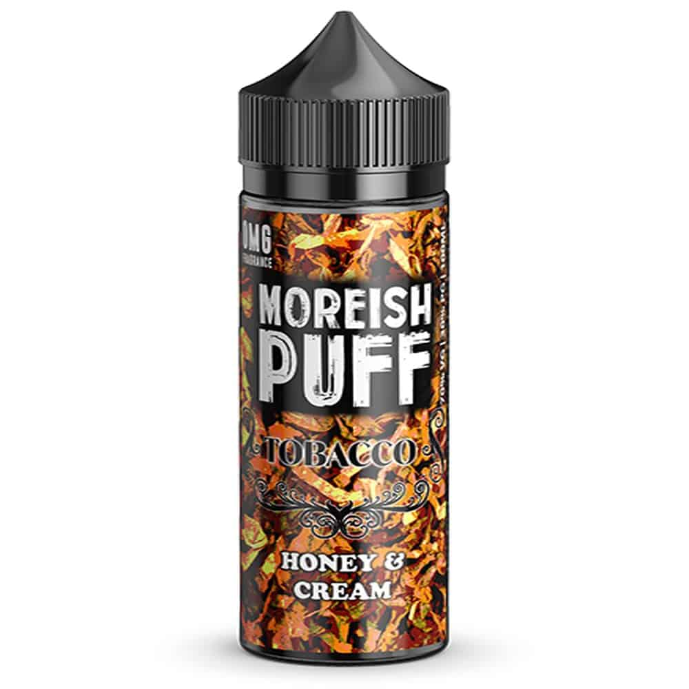 Honey & Cream Tobacco Moreish Puff Shortfill 100ml