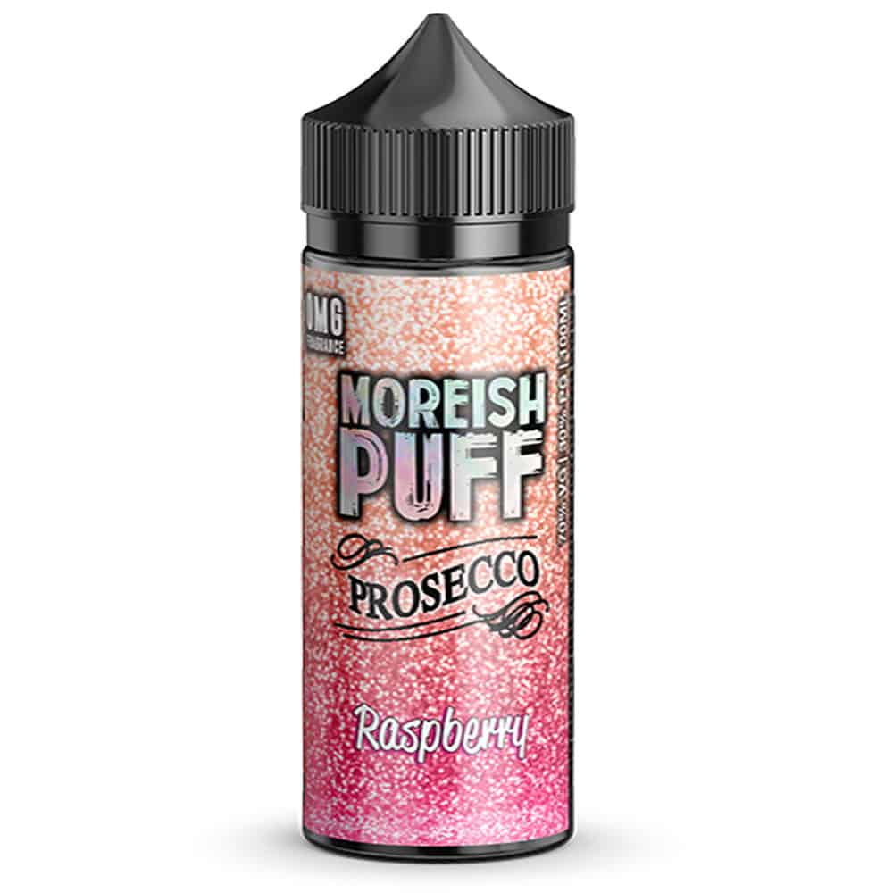 Raspberry Prosecco Moreish Puff Shortfill 100ml