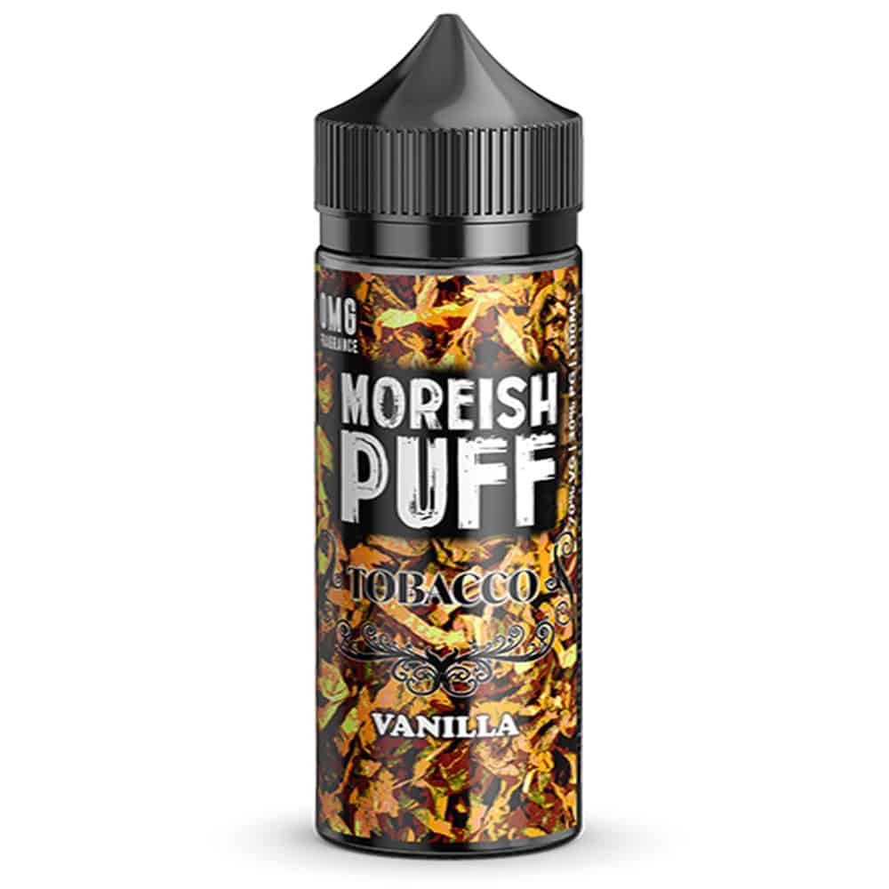 Vanilla Tobacco Moreish Puff Shortfill 100ml