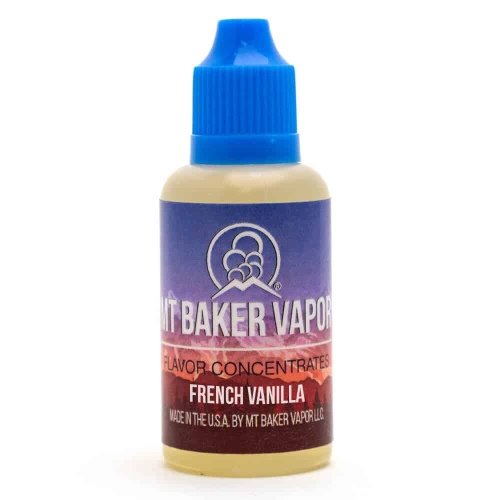 French Vanilla 30ml Flavor Concentrate by Mt Baker Vapor