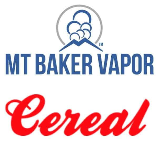 Mt Baker Vapor Custom Shortfills Cereal