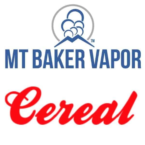 Mt Baker Vapor Custom Shortfills Cereal