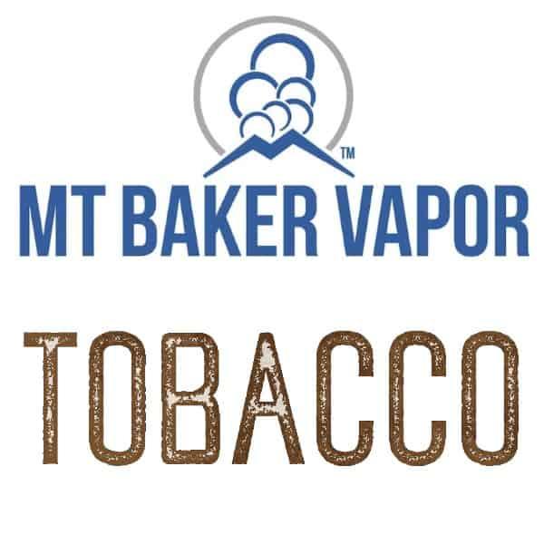 Mt Baker Vapor Custom Shortfills Tobacco
