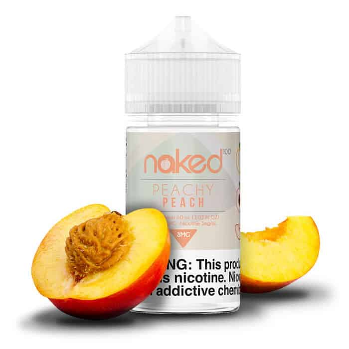 Peachy Peach Naked 100 Shortfill 50ml