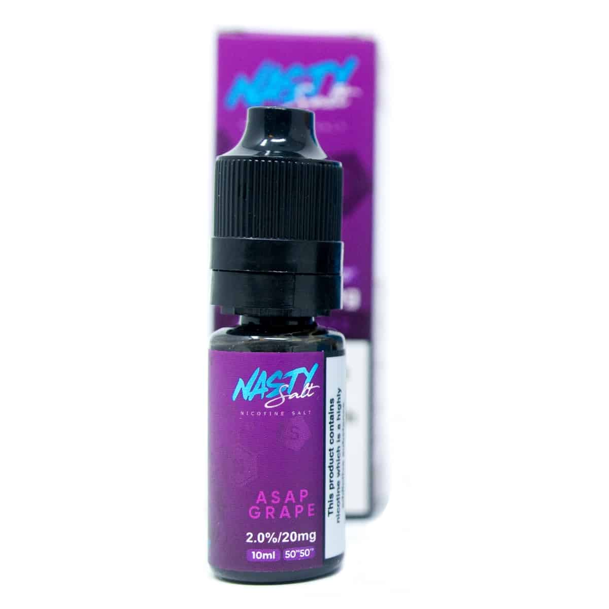 Asap Grape Nasty Juice Salt 20mg 10ml