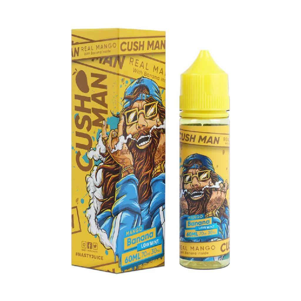 Mango Banana Nasty Juice Cush Man Shortfill 50ml