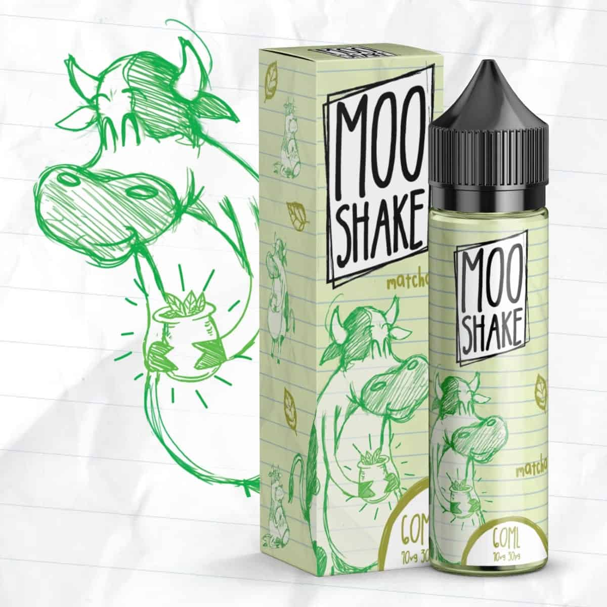 Matcha Moo Shake Shortfill 50ml