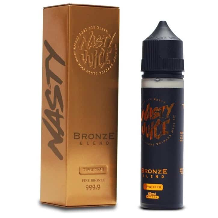 Tobacco Bronze Blend Nasty Juice Shortfill 50ml