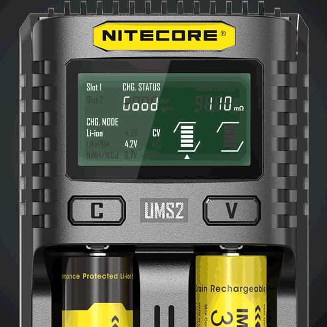 Nitecore UMS2 Display