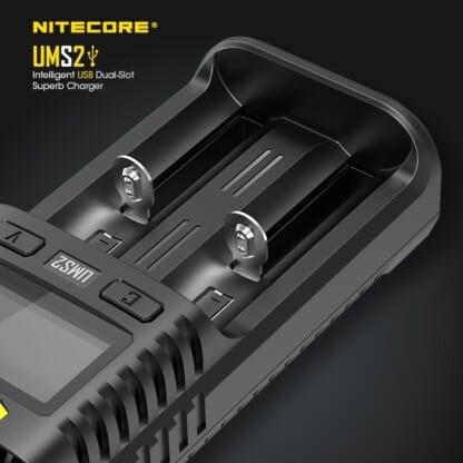 Nitecore UMS2 Slots