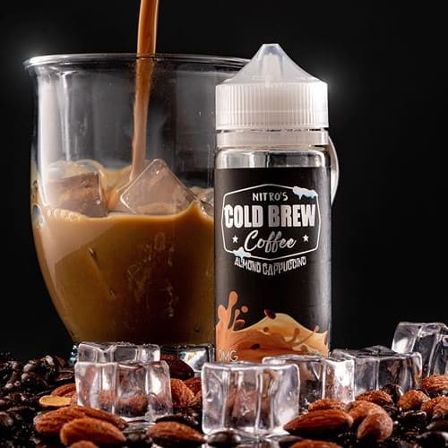 Almond Cappuccino Nitros Cold Brew Coffee Shortfill 100ml