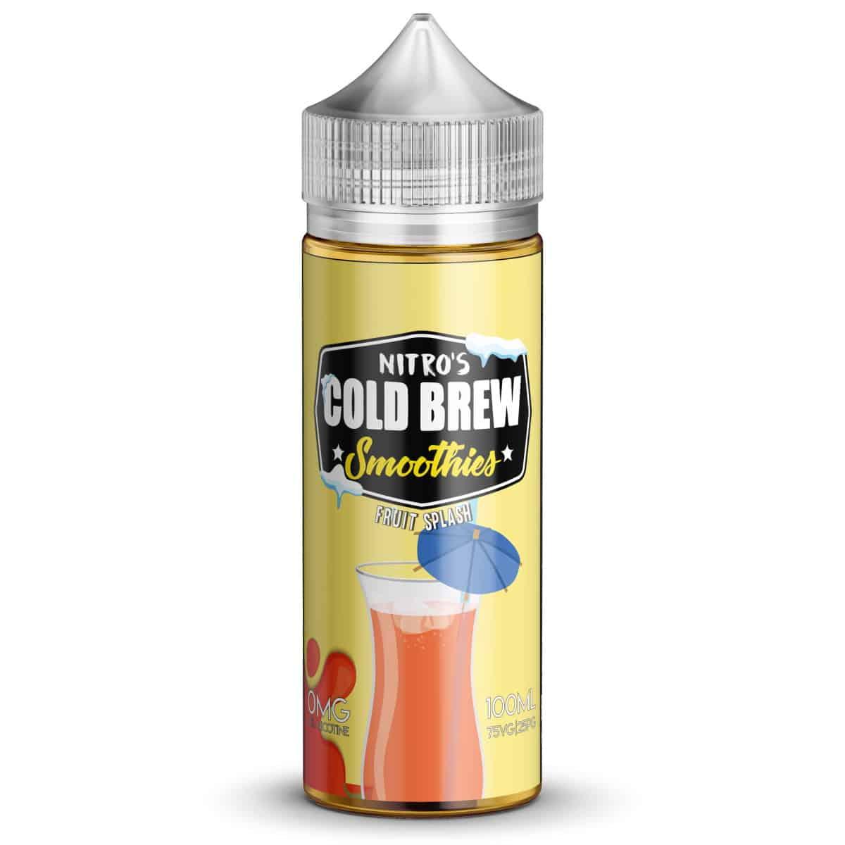 Fruit Splash Nitros Cold Brew Smoothies Shortfill 100ml