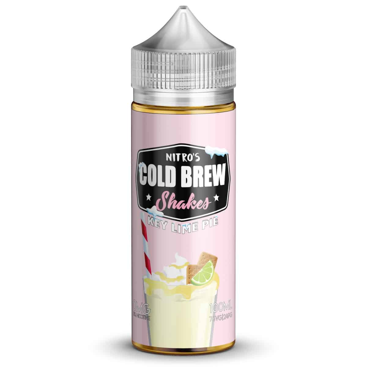 Key Lime Pie Nitros Cold Brew Shakes Shortfill 100ml