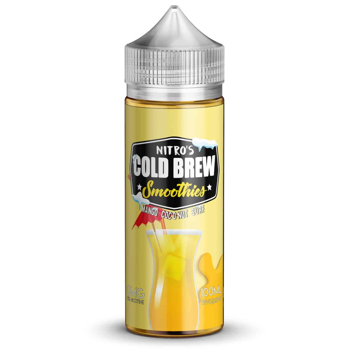 Mango Coconut Surf Nitros Cold Brew Smoothies Shortfill 100ml