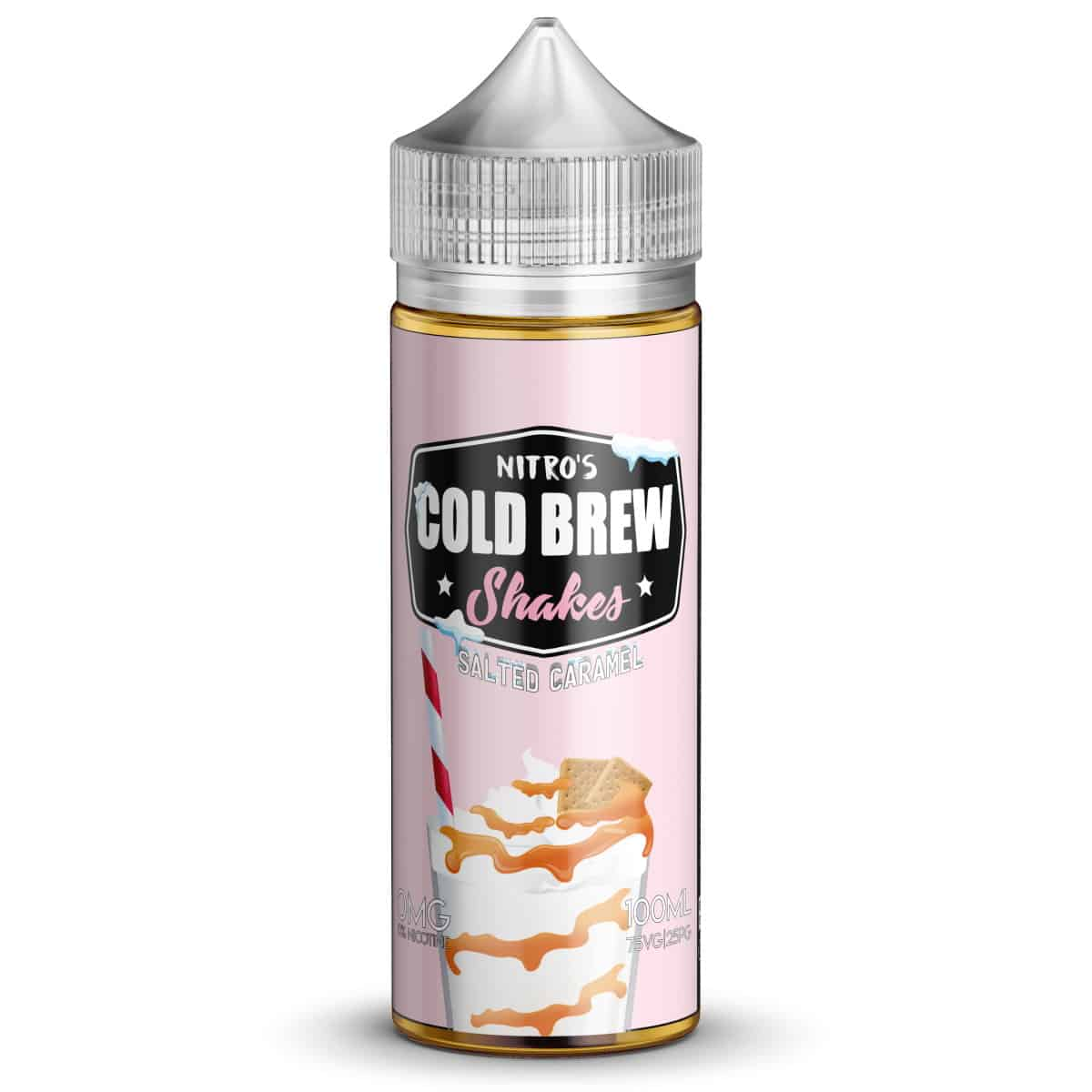 Salted Caramel Nitros Cold Brew Shakes Shortfill 100ml